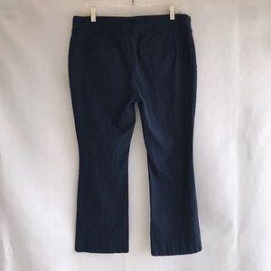 Anthropologie Pants - Anthro Cartonnier Charlie Crop Flare Pants Blue 10